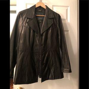 Ladies leather blazer from Danier